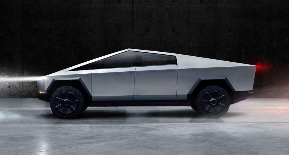Tesla Cybertruck estará disponible a finales de 2021. (Difusión)