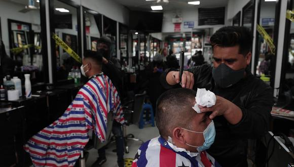 Las peluquerías volverán a atender en marzo, pero con previa cita. (Foto: GEC)
