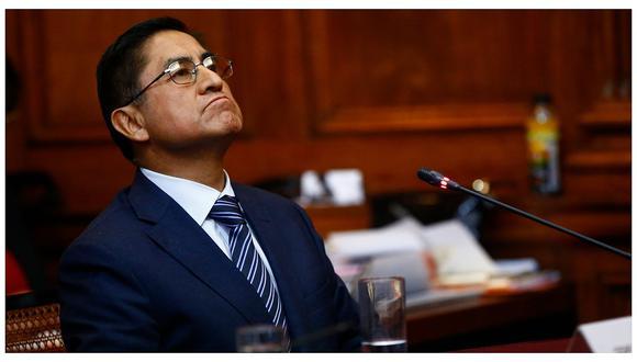 El ex juez supremo César Hinostroza es investigado por presuntamente haber liderado Los Cuellos Blancos del Puerto. (Foto: GEC)