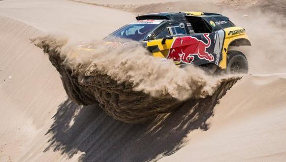 Loeb ha ganado tres etapas en este Dakar. (Foto: Facebook)