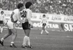 Luis Reyna y cómo se preparó la implacable marca a Maradona en 1985