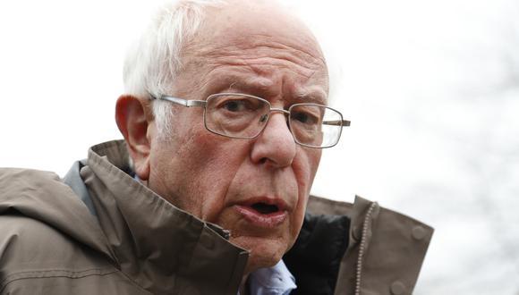 Bernie Sanders hara anuncio esta tarde tras los malos resultados en las primarias del martes. Foto: AP