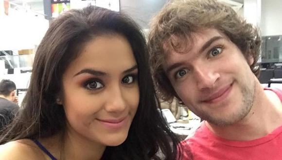 Mayella Lloclla aclaró su relación con Sergio Gjurinovic