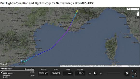 Twitter: accidente aéreo de Germanwings es tendencia mundial