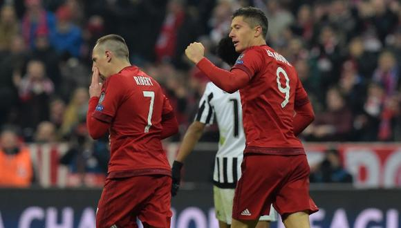 Bayern Múnich venció 1-0 al Colonia con gol de Lewandowski