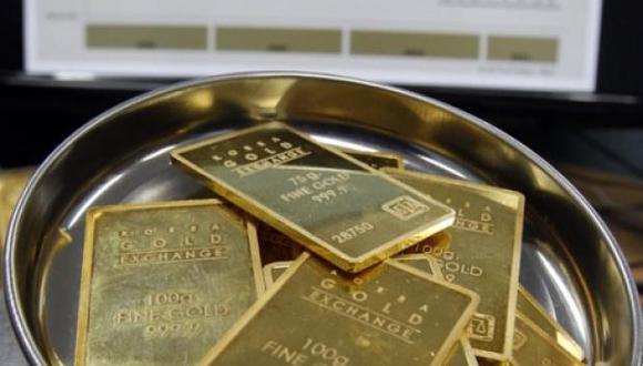 El oro ha retrocedido más de un 5% desde los US$1,346.73 en los que llegó a cotizar en febrero. (Foto: Reuters)