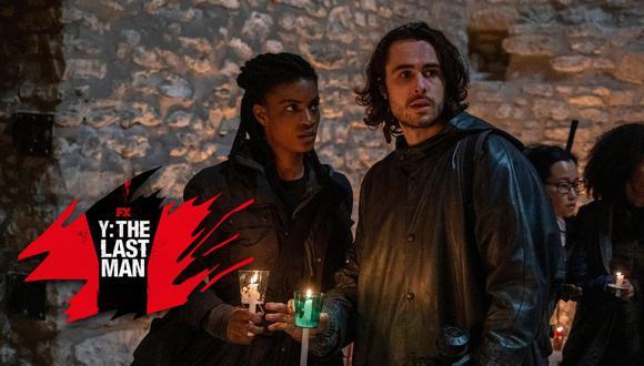 """La agente 355 (Ashley Romans) y Yorick Brown (Ben Schechter), el dúo protagonista de la serie """"Y The Last Man"""". Foto: Star+."""