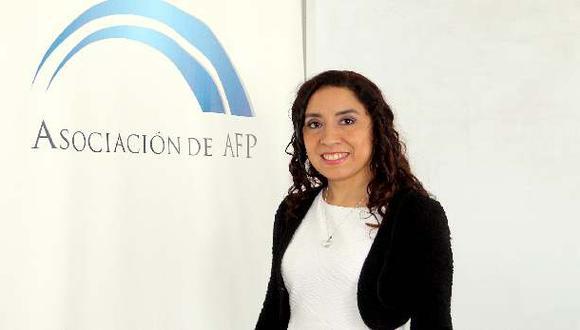 Giovanna Prialé asume presidencia de Asociación de AFP