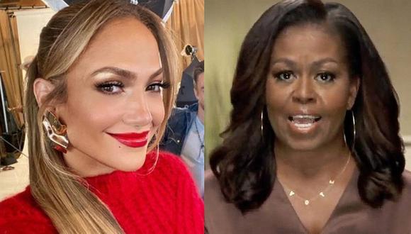 Jennifer Lopez ha mostrado su apoyo a Michelle Obama en diversas ocasiones, más aún cuando se trata de promover el voto en EE.UU. (Foto: @jlo Instagram / AFP)
