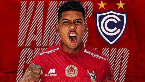 Raziel García aseguró que jugará por Cienciano esta temporada 2021 | Foto: @Club_Cienciano