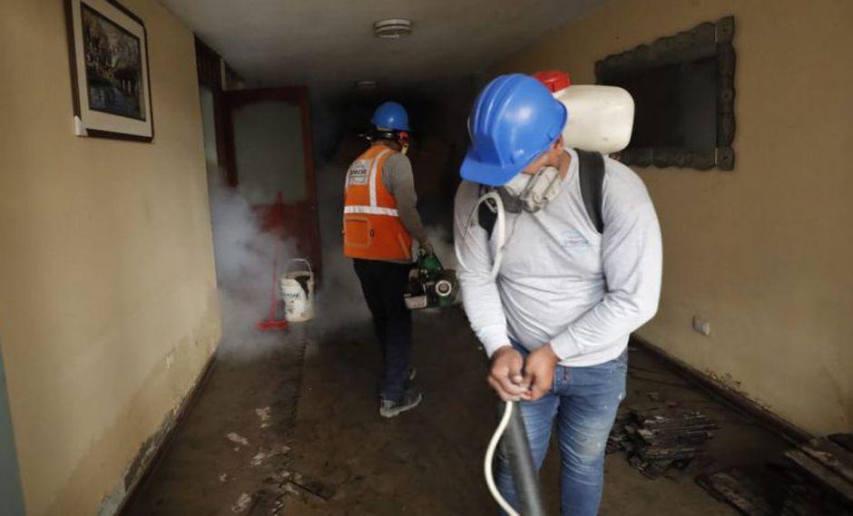 La fumigación se efectuará en casas que estén secas y limpias. (Renzo Salazar/El Comercio)