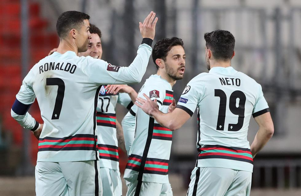 Portugal enfrentó a Luxemburgo por las Eliminatorias Qatar 2022