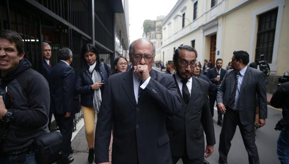 Pedro Patrón Bedoya, fue el único candidato que pasó con éxito el proceso de selección para la JNJ. (Foto: Alonso Chero / El Comercio)