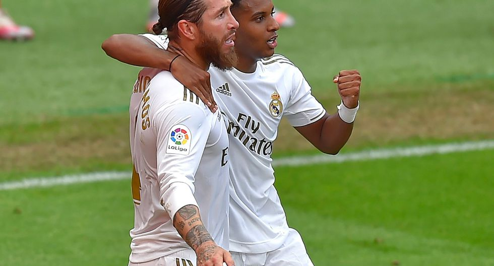 Sergio Ramos convirtió el gol del triunfo para el Real Madrid