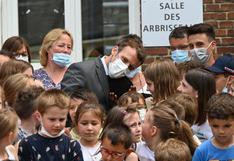 """""""¿Qué tal la cachetada que te dieron?"""": la incómoda pregunta de un niño al presidente de Francia (y la respuesta)"""