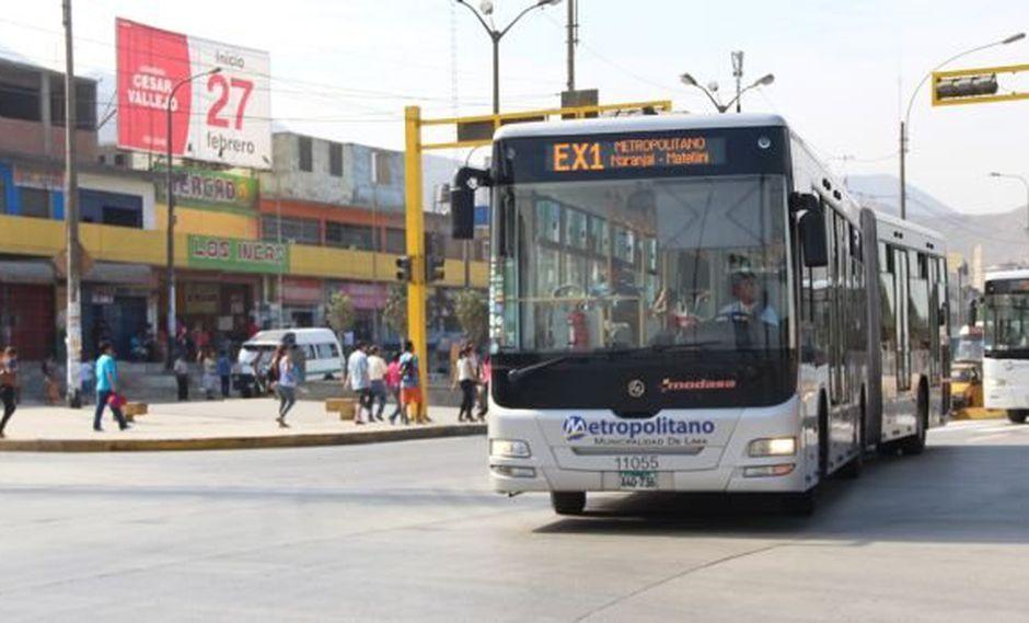 Buses del Metropolitano tendrían cámaras de seguridad en enero
