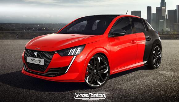 El preparador independiente X-Tomi Design ideó esta versión deportiva del compacto francés. (Foto: X-Tomi Design).
