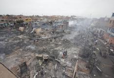 Callao: casas convertidas en cenizas y más de 300 damnificados por incendio