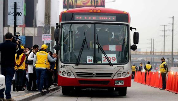 El sistema de transporte de los Corredores Complementarios podría paralizarse.  (Foto: Municipalidad de Lima)