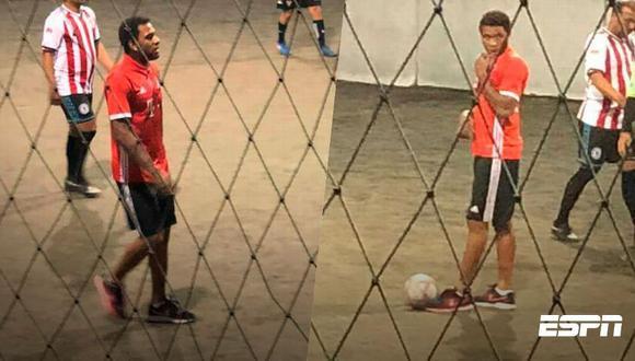 Alexi Gómez fue captado en un complejo de Zapopan jugando fútbol callejero. Esto habría generado su expulsión del Atlas FC de la Liga MX. (Foto: ESPN)
