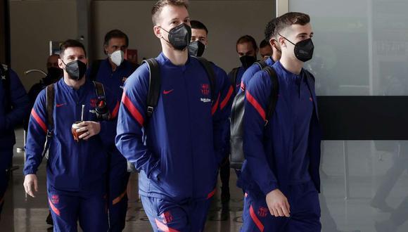Barcelona difundió la lista de convocados para jugar con PSG en la Champions League. (Foto: EFE)