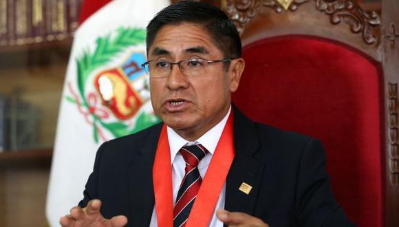 El juez supremo César Hinostroza habría contactado por teléfono a Antonio Camayo, gerente general de IZA Motors, para coordinar viaje a Rusia para ver jugar a la selección peruana. (Foto: Andina)