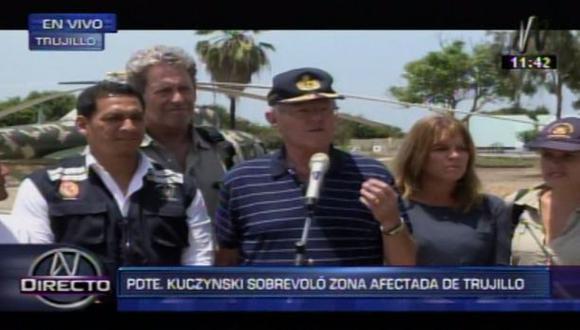 """PPK:""""La prioridad es reabrir la Panamericana y Chavimochic"""""""