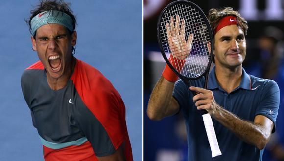 Nadal y Federer chocarán en semifinales del Open de Australia