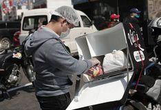 Servicio de delivery se mantendrá los domingos durante la inmovilización obligatoria