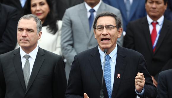 Martín Vizcarra clausuró el 11 Gore Ejecutivo agradeciendo la participación y la coordinación con los gobernadores regionales. (Fotos: Giancarlo Ávila / GEC)