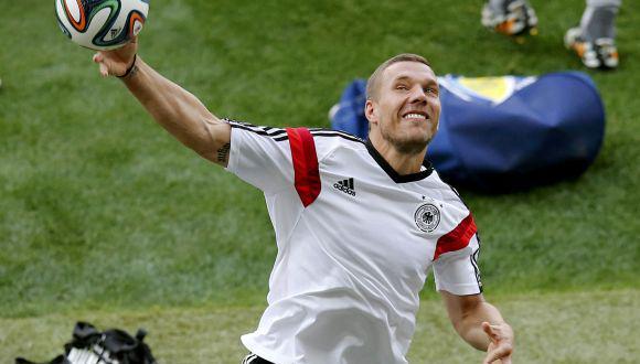 Lukas Podolski escribió emotivo mensaje para Brasil