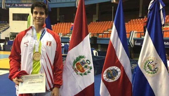 Peruano logró medalla de oro en Copa del Mundo de esgrima
