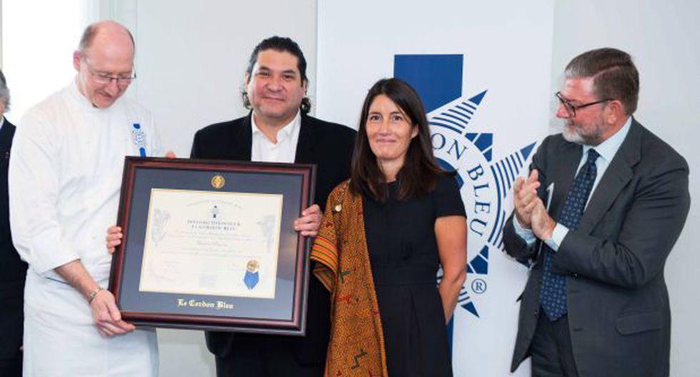 Gastón Acurio recibe reconocimiento en Le Cordon Bleu de París - 1