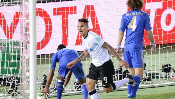 Paolo Guerrero llegó a mediados del 2012 a Corinthians, que pagó 5 millones de dólares al Hamburgo de Alemania. (Foto: AFP)