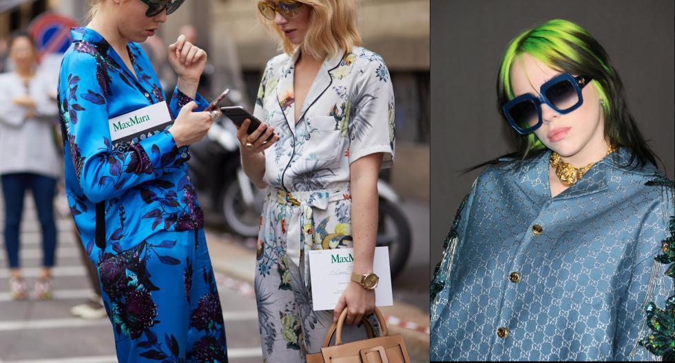 Esta cómoda tendencia se puso en boga a mediados del año 2017. Ella, proponía el uso de piezas sueltas que se asemejaban a camisolas, conjuntos dos piezas y vestidos de pijama. Aquí los detalles. (Foto: Shutterstock/ AFP)