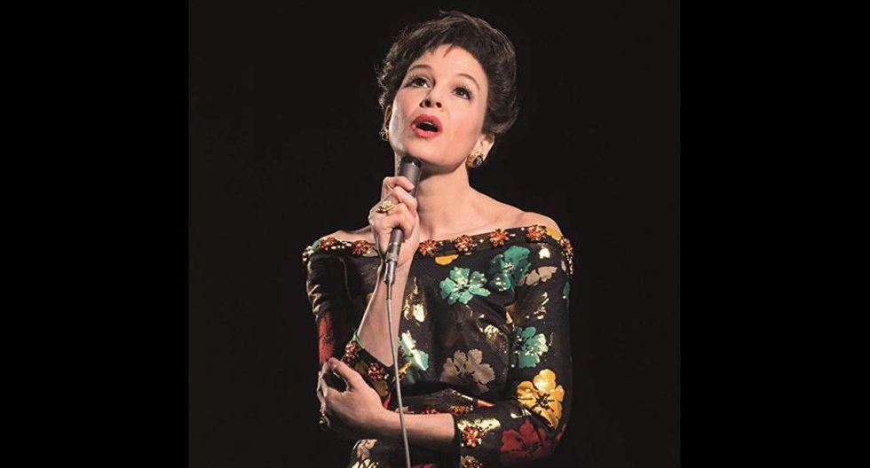 """En """"Judy"""", la actriz estadounidense interpreta a la cantante Judy Garland."""