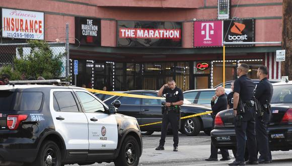 La cadena ABC apuntó que el tiroteo pudo registrarse al aire libre, ya que se vieron casquillos de bala en un callejón detrás de la casa. Foto referencial. (AFP)