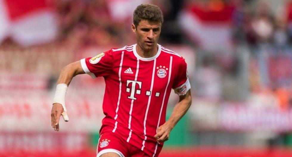 Thomas Müller   Bayern Munich. (Foto: Agencias)