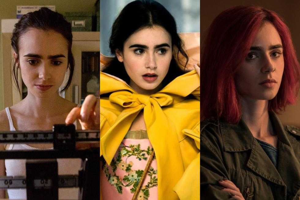 Lily Collins estrena nueva serie en Netflix, recordamos otras ficciones que protagonizó y que se encuentran en los servicios de streaming. (Foto: Netflix/ Disney)