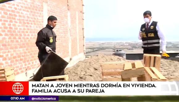 El crimen ocurrió en el asentamiento humano Carlos García Ronceros, en la zona de Pachacútec (Ventanilla). (América Noticias)