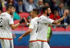México vs. Rusia: Nestor Araujo logró el 1-1 con gran remate de cabeza