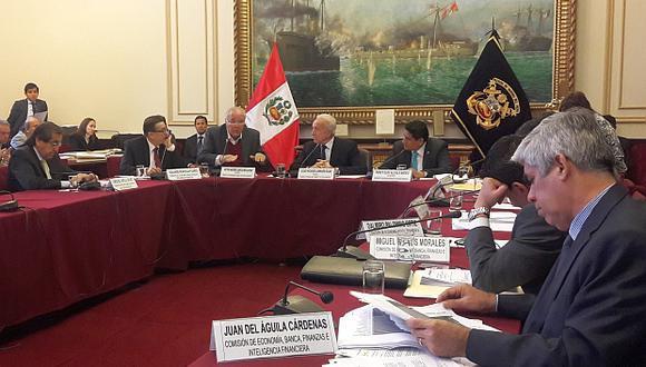 Miembros de la Comisión de Economía del Congreso cuestionaron la ausencia del jefe de la Sunat para explicar el impacto de las exoneraciones tributarias en la recaudación. (Foto: El Comercio)