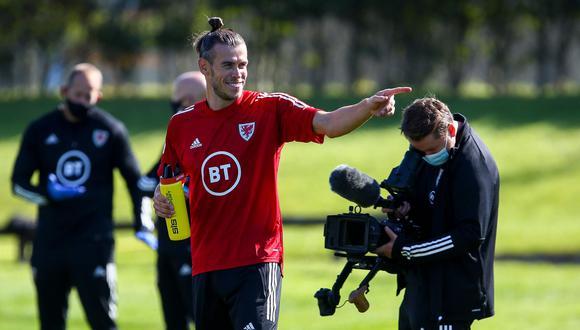 Bale juega esta tarde con Gales ante Finlandia. (Foto: AFP)