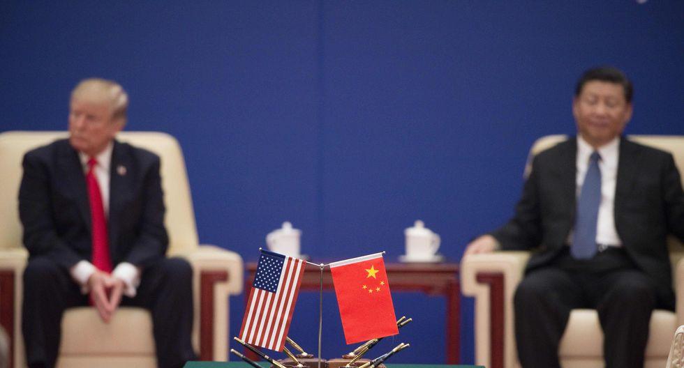En el día, Donald Trump se había mostrado optimista con el resultado de las conversaciones comerciales con China. (Foto: AFP)