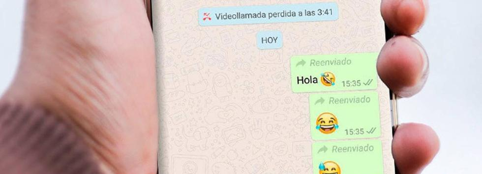 Cómo compartir fotos y videos en WhatsApp sin que aparezca la palabra 'reenviado'