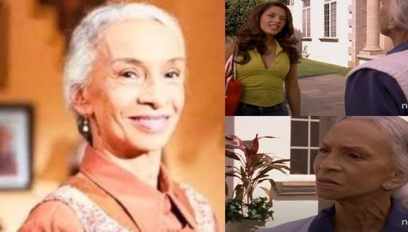 """Josefina Echánove falleció a los 93 años en México. A la derecha, junto a Bárbara Mori en """"Rubí"""". (Fotos: Televisa)"""