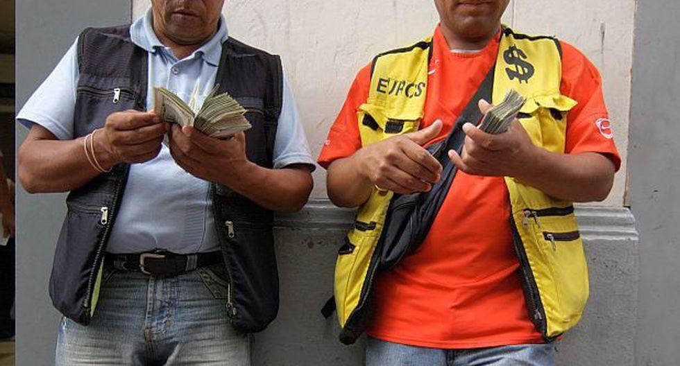 Este es el precio del billete verde en Perú. (Foto: GEC)