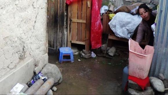 Pasco: al menos 15 viviendas inundadas por fuerte granizada