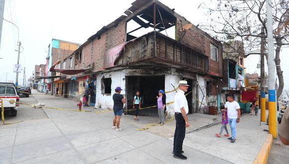 El pasado 23 de enero ocurrió el incendio producido por la deflagración de un camión cisterna que transportaba gas licuado de petróleo (GLP) en Villa El Salvador. (Foto: Alessandro Currarino)