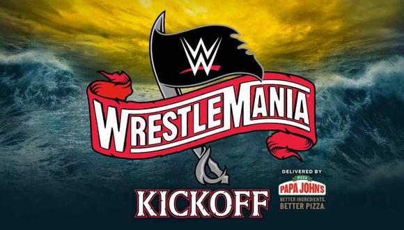 Las jornadas de Wrestlemania 36 tendrán el show de Kickoff. (Foto: WWE)